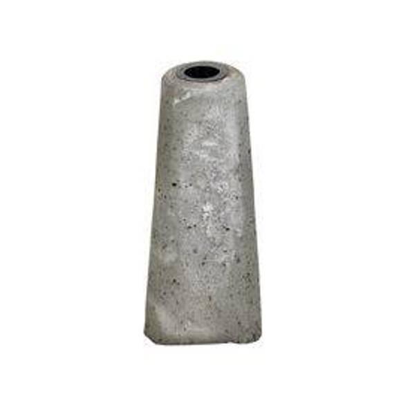 Bilde av Betong Fundament til permanent kurv/skilt stållås